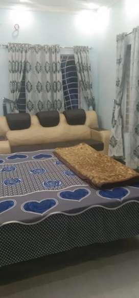 Fully Furnished Rooms for rent available at New Super Town, Lahore