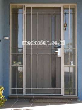 Teralis Pintu Aluminium Minimalis Klaten