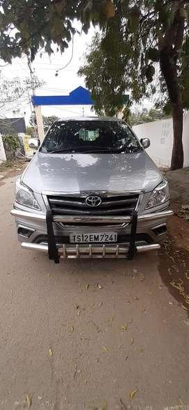 Toyota Innova 2.5 G 7 STR BS-IV, 2015, Diesel