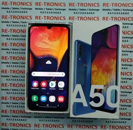 /Samsung A50~64GB And 4GB~Color Blue~Box~Charger~Under Warranty/