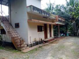 4 Acres of land with 1700 sq. ft. house for sale near Kurumannu, Palai