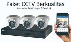 Cctv brand hikvision bebas biaya pemasangan