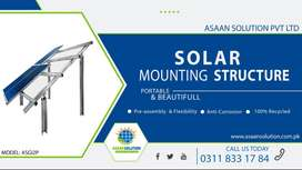Solar Mounting Structure (Iron, Strong, Durable, Beautiful))