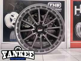 Toko Velg dan Ban Mobil Terlengkap di Kota Padang, Branded HSR Wheels