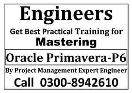 ICCT-offers Step by Step Practical Training Primavera-P6, MS Project