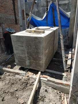Tandon bak air beton cor tanam