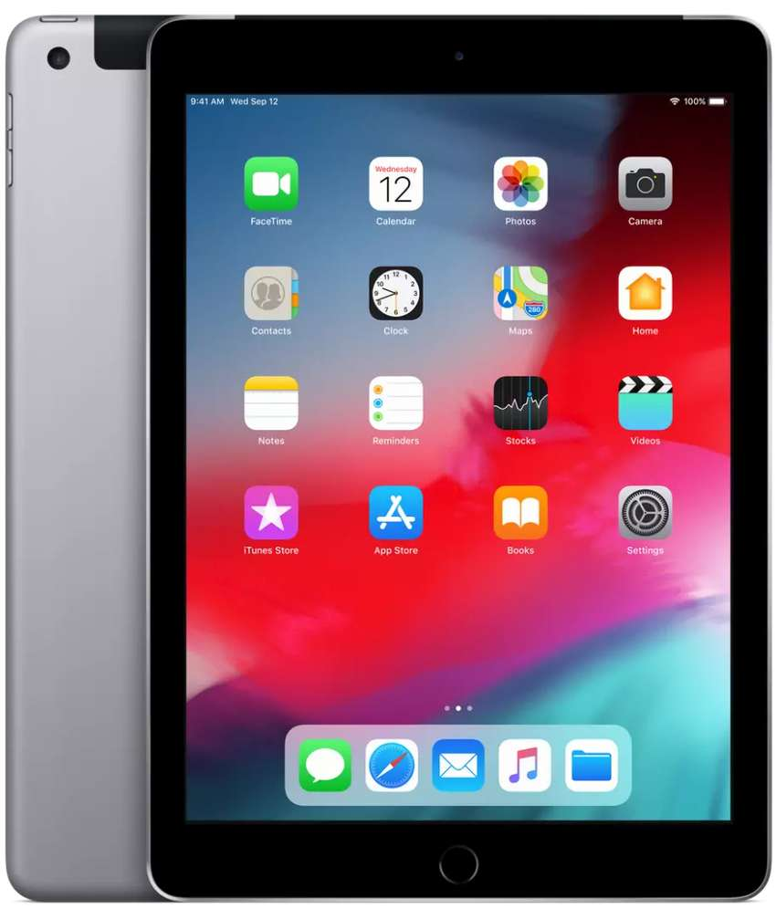 Great deal IPad 6 32GB Wi-Fi Space Gray (Apple Packed , Unactivated) 0