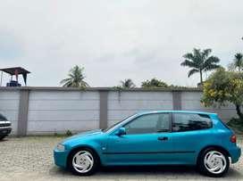 Honda civic estilo sr3 1993 MT green metalic