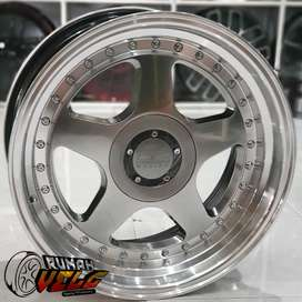 RUMAH VELG MOBIL MURAH R17 Oz Futura  Pcd 4-100/114,3 JAZZ YARIS MARCH