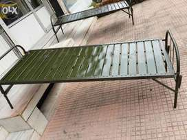 Steel fabricated beds limited stock