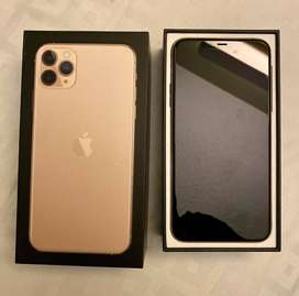 Brand New Apple iPhone 11 Pro Max-64GB-Gold(PTAUnlocked) Model A2161
