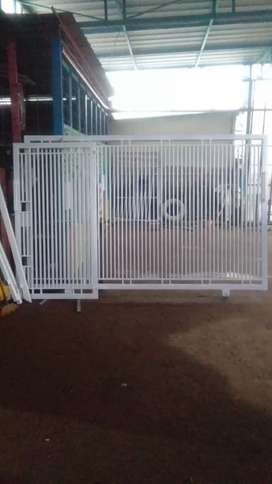 Menerima pembuatan pagar besi minimalis bengkel las listrik Buana