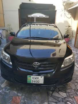 Toyota Corolla 2009 tottaly genuine  Non accident khanewal reg