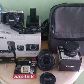 Kamera canon mirolles m6 set