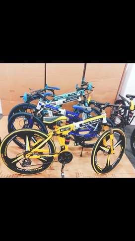 NEW BMW,BEINGHUMAN,AUDI,21 GEARS FOLDABLE BICYCLE  FREE ACCERIEs. Best