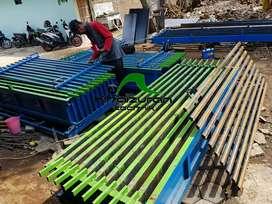 Cetakan pagar panel bergaransi