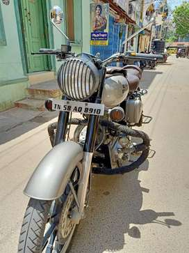 Royal Enfield double disk bs4