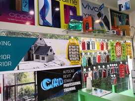 Mobile Shop/Janaseva Online Center for Rent