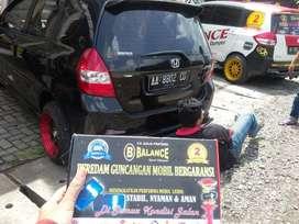Mobil stabil di semua kondisi jalan berkat dipasangkan BALANCE PGM