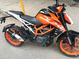KTM duke 390 ABS in a mint condition