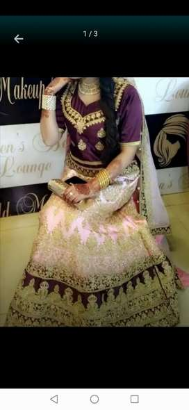 Indian lehnga in good condition