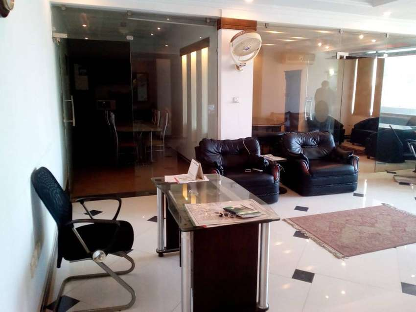 1200 Sq Ft Fully Furnished Office On Rent in f-10 Markaz 0