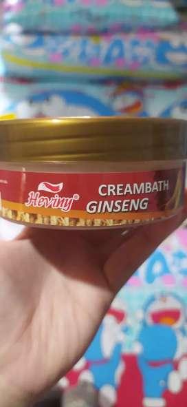 Creambath Ginseng Heviny Preloved isi Masih Sangat Banyak