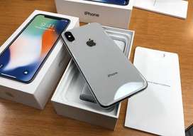 iPhone X 256Gb Box Pack NEW Non-Active 1 Year Warranty PTA Approved