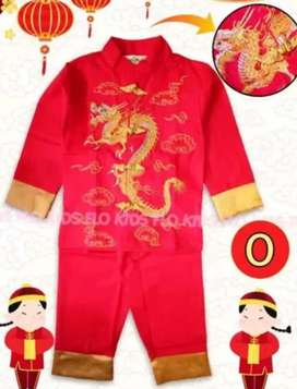 Sale baju Imlek anak cowok