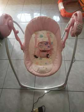 Ayunan BabyElle Baby Swing Automatic Babyelle Angel with MP3 SD Card