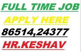 FULL TIME JOB  HELPER-12,500 STORE KEEPER-14,500 SUPERVISOR-18,500  Co