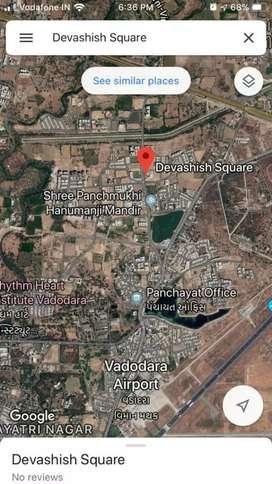 Graund floor shop for rent at prime location in Vadodara Gujarat