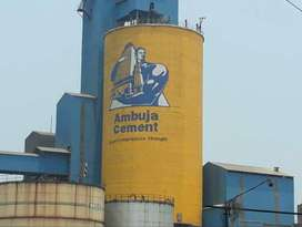 """Direct joining """"AMBUJA CEMENT"""" Limited company need male candidates fr"""