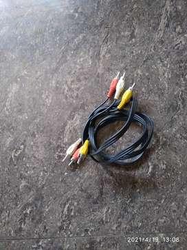 Audio video cable set