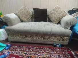 Two seater sofa seat is available for sale