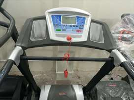 Slim line auto incline treadmill less used