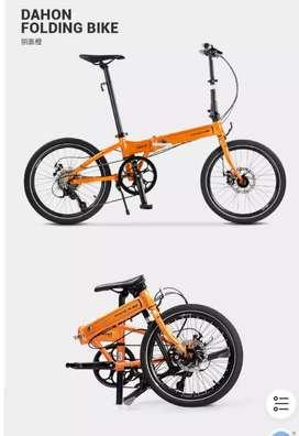 DAHON LAUNCH D8 Sepeda Lipat Original Import
