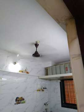 1bhk flat sale at valiv, 35 feet long balcony, rs 16 Lakhs nego,