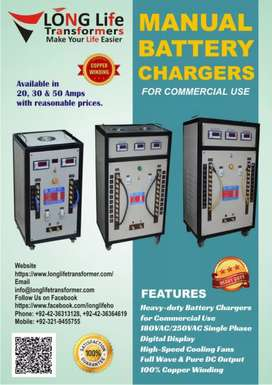 LONG LIFE TRANSFORMERS BATTERY CHARGER