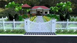 Farm house for Sale at 30 Lacs with 300 yard plot at Pedda Golconda