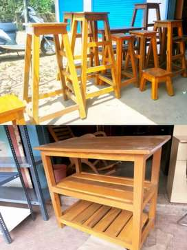 Manufacturer of wooden tables and stools