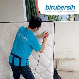 Jasa Kebersihan Cuci Kasur Spring Bed & Sofa Profesional - birubersih