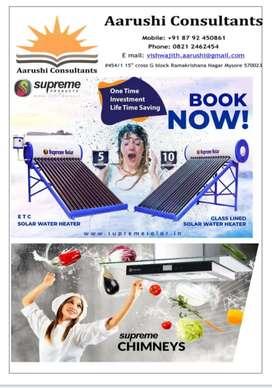 Solar water heater , UPS Battery