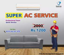 Super AC service at affordable price. Stay home stay cool