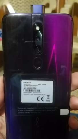 Oppo f11 pro 10 by10 condition with 7 month gurunty