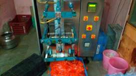 Fully automatic water filling packet machine