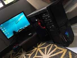 PC Gaming Editing AMD A6 VGA R5 Lengkap Tinggal pakai siap lembur