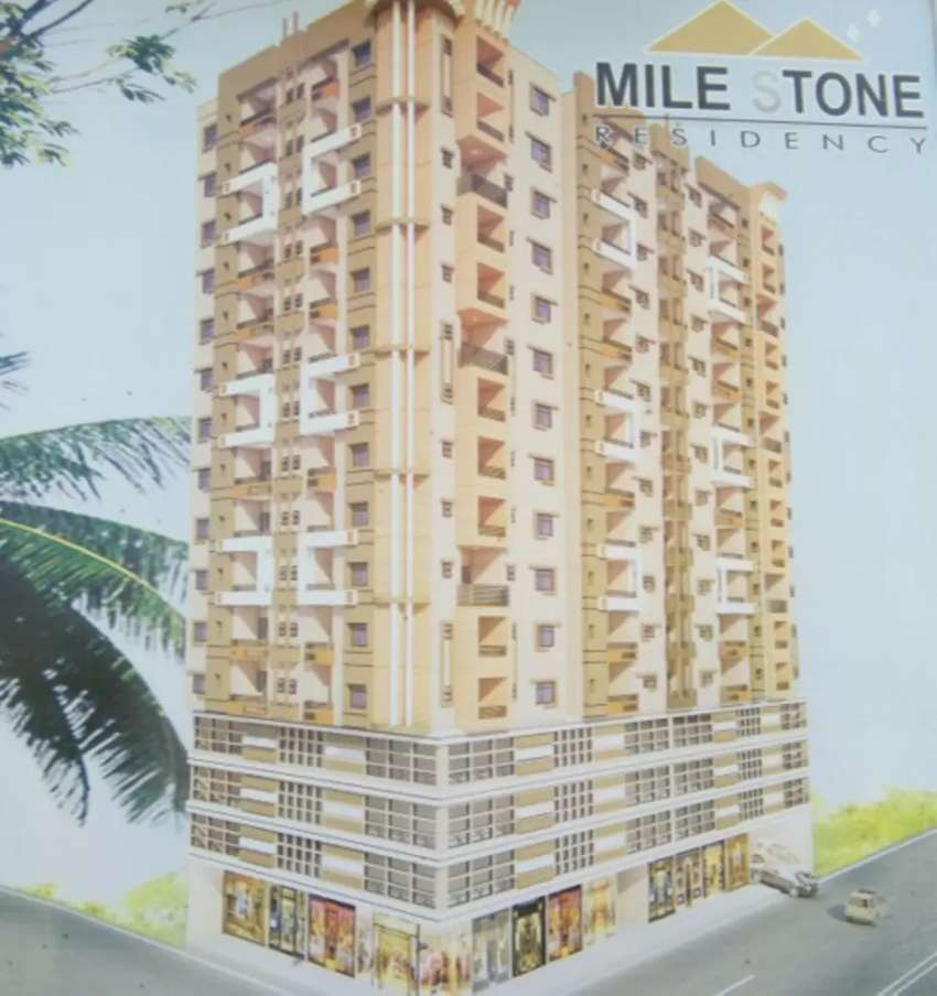 Milestone Residency, booking started in Norht Nazimabad,  block M 0