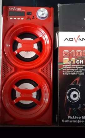 Speaker Portable ADVANCE H24-A (Usb,slot microsd)