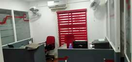Fully Furnished ac office at mg road near seematti